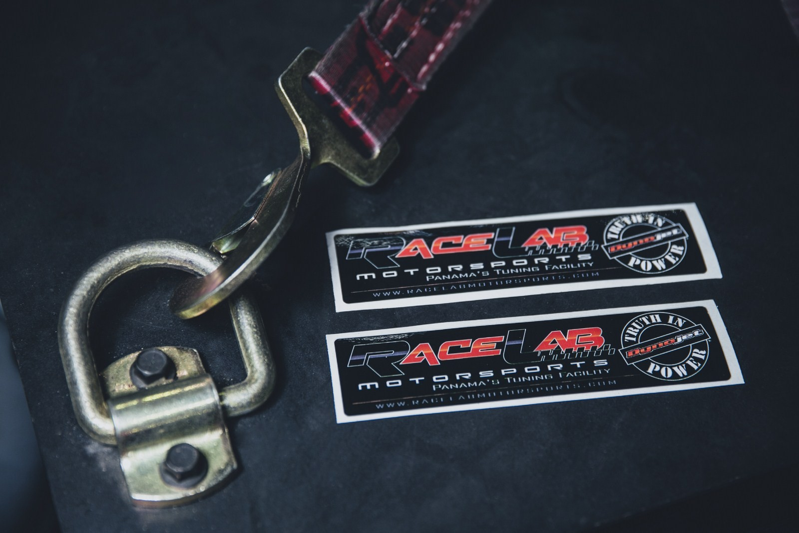 RACE LAB DECAL DYNO JET 6.8 x1.75 COST- $5.00